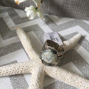 Ring , Silver PZ ISRAEL